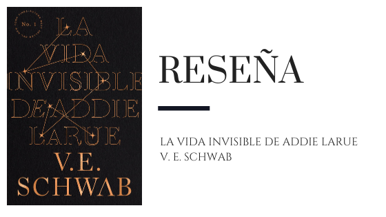 Pirra Smith - Reseña La vida invisible de Addie LaRue de V.E. Schwab